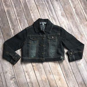 DKNY. Jean jacket 5T